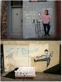brilliant street art by Hanksy