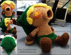 Legend of Zelda Deku Link - Free Crochet Pattern plus video from ArtisticGaming