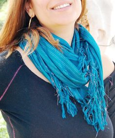 Knit Scarf Jersey Scarf Print Scarf Cotton by FashionAndScarves