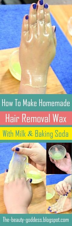 How To Make Homemade Hair Removal Wax