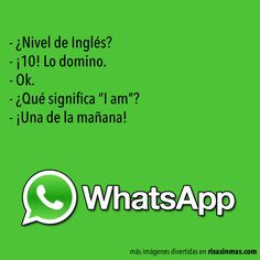 Chistes de WhatsApp: Nivel de inglés