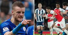 Why Jamie Vardy may have exploded while watching Arsenal vs West...: Why Jamie Vardy may… #ArsenalVsOlympiakos #ArsenalvsWestBrom #Arsenal