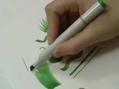 Drawing with the Chisel Nib  Video: 0:31  This short clip shows what kind of lines can be achieved with the Chisel Nib found on Copic, Copic Sketch and Copic Ciao markers.