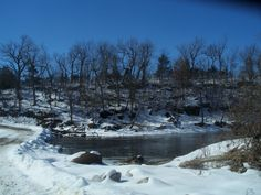 14.Snow and Water, Ozarks