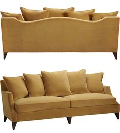 Simply Baker Sofa. Beautiful from the front and the back.