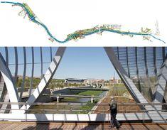 Madrid río: 50 fotos desde los puentes del nuevo parque de madrid — idealista/news