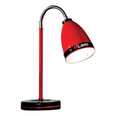 """Need for Sleep Turbo 27.8"""" H Table Lamp with Bell Shade"""