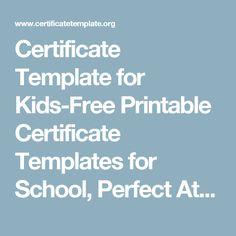 Certificate Of Attendance Template  Certificates