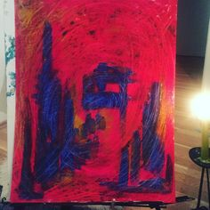 Nights Abstract, Night, Painting, Art, Painting Art, Paintings, Kunst, Paint, Draw