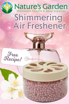 Free Shimmering Air Freshener Recipe by Natures Garden