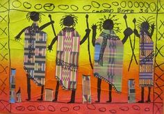 african art projects for elementary | New Art Show Selections Georgetown Elementary Art Blog