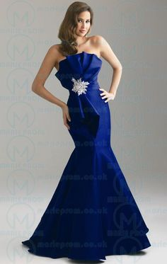 Unique Long Royal Blue Tailor Made Evening Prom Dress (LFNAF0044) cheap online-MarieProm UK