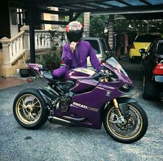 #ducati #1199 #purple #ducaticorse #bike #motorcycle #biker
