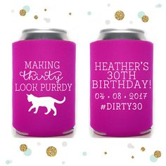Fun customizable party favour from local BC business Sycamore Studios!