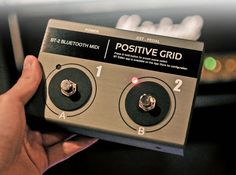 Positive Grid BT2 offers full wireless control of most CoreMIDI apps