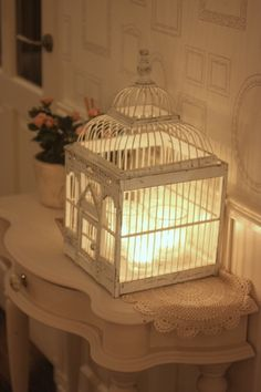 <3 the birdcage with candles ~ 24 Homes