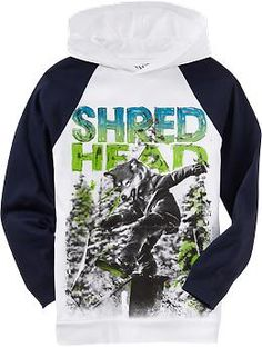 Boys Hooded-Raglan Graphic Tees | Old Navy #ONpinparty #ONkidtacular #oldnavy #skateboardparty