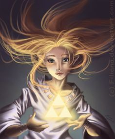 The triforce... by *Filiana on deviantART