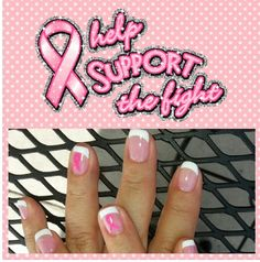 Don't forget . Breast cancer awareness .