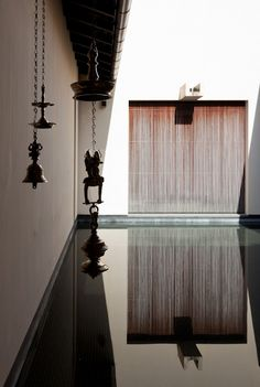 Kerry Hill Architects - Gower St Residence  spiritual amplitudes in their buildings, work with light and shade, texture and silence of space.