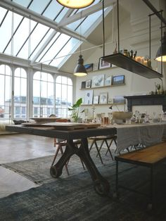 elorablue: Amsterdam Loft - Winter Edition | Vosgesparis Interior Design