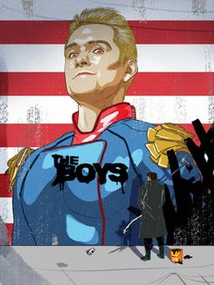 Superhero Shows, Karl Urban, Boys Wallpaper, Batman Art, Comic Book Characters, Boy Art, Cultura Pop, Amazon Art, Favorite Tv Shows