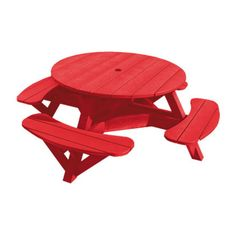 Generation Line Round Picnic Table