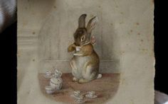 Beatrix Potter, who was born in 1866, had a lonely childhood and her menagerie of animals were her only playmates.