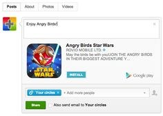 Now share and install Android apps right within Google+!