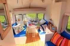 Idee Per Interni Roulotte : 265 fantastiche immagini su caravan interiors camper trailers
