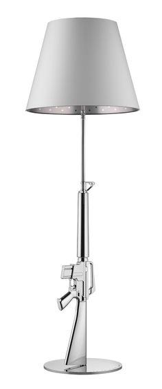 FLOS Gun_Lounge Gun Floor Lamp