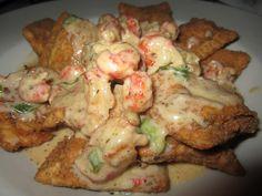 Crawfish Ravioli! This looks sinful lol yum!