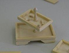 Como hacer este bonito expositor en miniatura