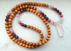 Self Love Mala with Wood
