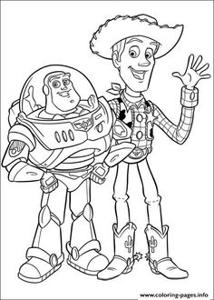 27 Best Toy Story Crafts images | Toy story coloring pages, Coloring ...