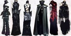These are so cool and beautiful! I wish I could afford this kinds of clothing and not be a poor college student...