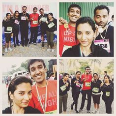 First marathon run. #smartcityrun #runon