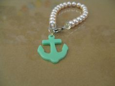 Anchors Aware Pastel Bracelet by OwlAlwaysLoveYouDeer on Etsy