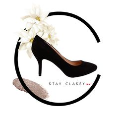 Black pumps are always in style Stay classy with #ClassyTouch  #INTOTOs #Blackpumps #INmyshoes