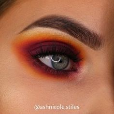 Morphe James Charles Palette - Augen Make-Up Makeup Eye Looks, Eye Makeup Steps, Makeup For Brown Eyes, Eyeshadow Looks, Neutral Eyeshadow, Red Eyeshadow, Cute Eye Makeup, Colourpop Eyeshadow, Full Makeup