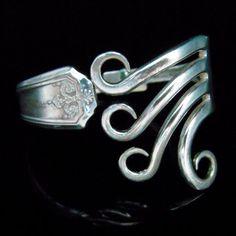 Lovely fork bracelet. Definitely not DIY, but inspo to make something amazing out of something ordinary - absolutely!