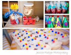 Circus Themed Birthday Party by Jessica Pledger Photography