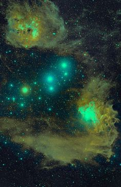 #IC405 is an emission/reflection nebula located in the constellation #Auriga.: http://buff.ly/1Sx1FGX
