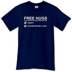 #freehugs t-shirt #funnytshirt #tshirtpins