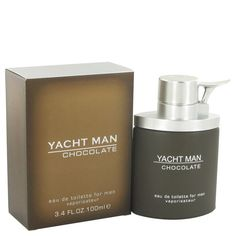 Yacht Man Chocolate Eau De Toilette Spray By Myrurgia