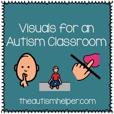 This packet includes over 35 visuals to be used in special education or general education classrooms! Children with autism struggle with expressive and receptive language abilities. Visuals are an essential tool to help students with autism understand their environment and express their wants and needs.