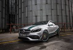 Photo by [Mercedes-AMG A 45 Auto Leasing, Women Drivers, Buying New Car, Amg Petronas, Black Luxury, Expensive Cars, Limousine, Car Parking, Free Photos