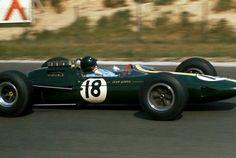 1963 French GP, Reims. : Jim Clark, Lotus-Climax 25 #18, Team Lotus, Winner. (ph: www.jacqalan.com)