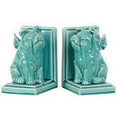 Found it at Wayfair - Ceramic Winged Pig Bookend