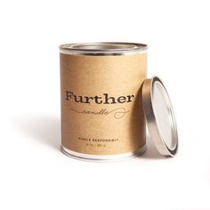 Further Candles, Los Angeles, CA  13 oz. Tin Candle – Further Soy Candle
